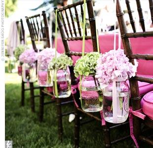 wedding chair reception
