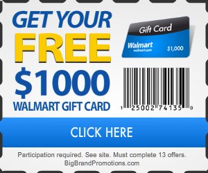 Apple Store Gifts: Get Free $1k Walmart gift card