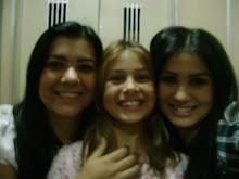 Carmem-mãe , Isabela -irmã, Bruna