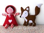A Raposa e a Boneca Abraços postados no Cuteable!