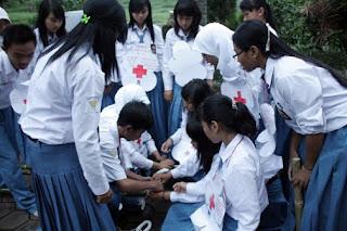 Palang Merah Remaja (PMR) SMAN 1 Taman (Smanita) tahun ini mengadakan