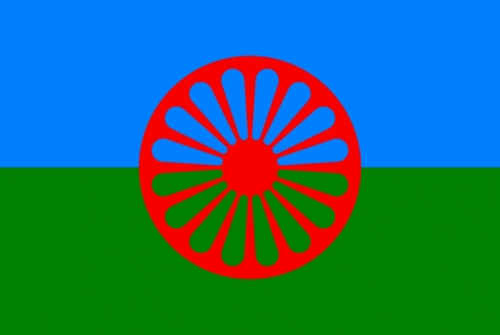FLAG OF THE ROMANI