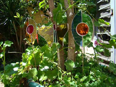 Mis Vitrales Adornos para jardin