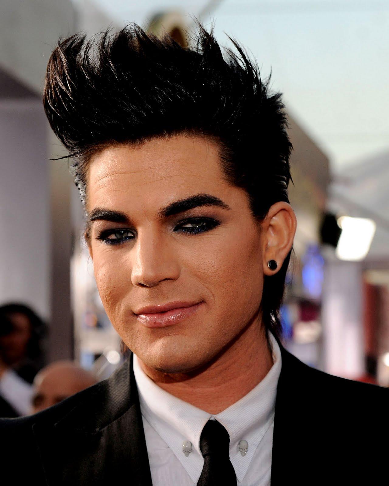 How-To Adam Lambert SAG Awards Makeup 2011 ~ Glamatronic