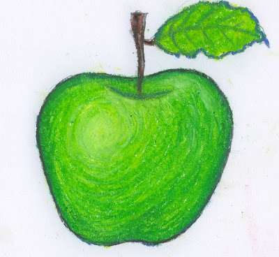 Draw An Apple In Warm And Cool Colors Reference From The Color Wheel For Reduse Green Teacher Will Complete