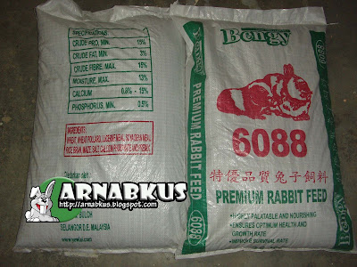 Rabbit Feed BENGY 6088 25kg