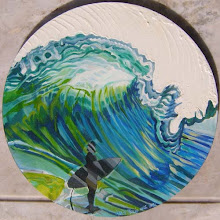 El surfista y el mar
