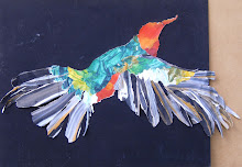 Pajaro volando