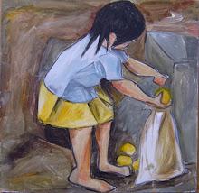 Juntando limones