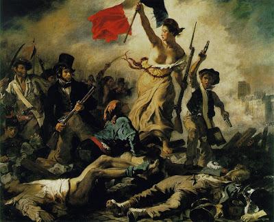 Delacroix: La llibertat guiant el poble