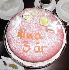 Alwa fyllde 3 år i helgen!