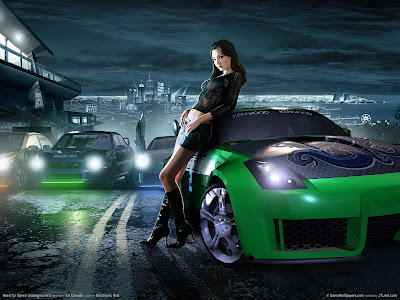 Need for speed underground 2 wallpaper collection