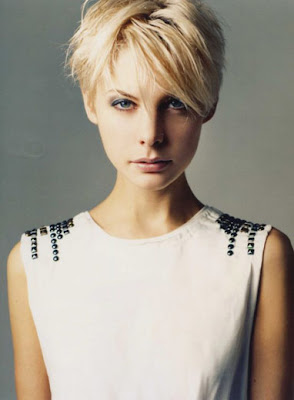 kate peck model short hairstyle
