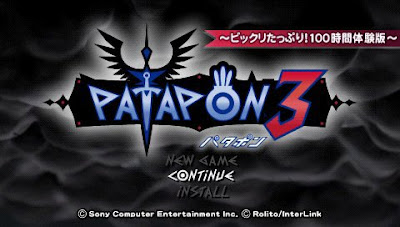 PSP Game Patapon 3 Second Demo download