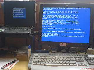 Blue Screens Of Death (In Stereo Where Available)
