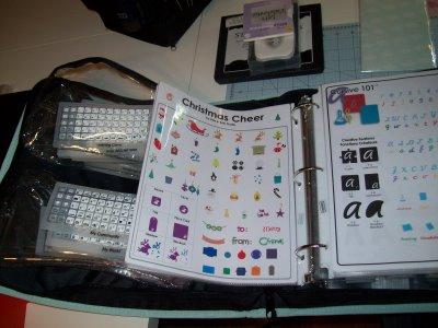 Cricut Cartridge/Handbook Storage