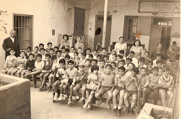 une classe de koutab à Nabeul en 1960