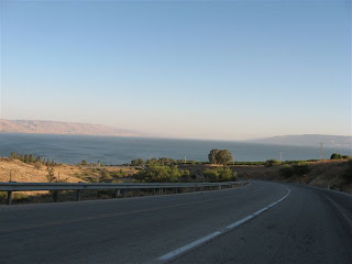 Road to Lake Kinneret