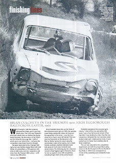 'finishing lines' - courtesy of Classic Cars Magazine