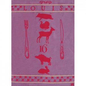 kings tea towels louis xvi