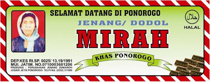 JENANG MIRAH PONOROGO