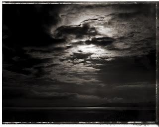 Type 55 Polaroid - Sun over Utah Lake - Brandon Allen