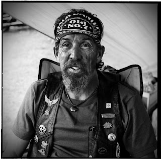 American Biker Project - Black and white portraits