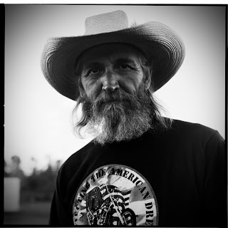 American Biker Project - Sugar Pine Ranch Rally - Black and White Portraits