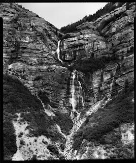 Brandon Allen Photography - 8x10 Contact Print - Bridal Veil Falls, Provo UT