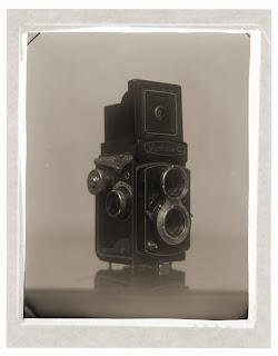 Black and White Photo - Quarter Plate Camera - Brandon Allen Photography
