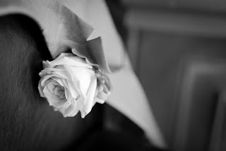 The grooms buttonhole