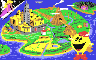 Pac-Land loading screen