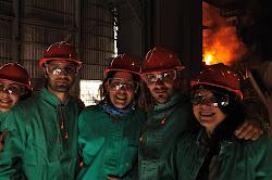 Trabajo de campo en Acindar, Villa Constitución. Septiembre 2010