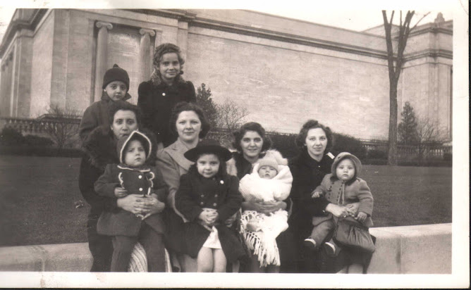 The family really starts to grow ~1940