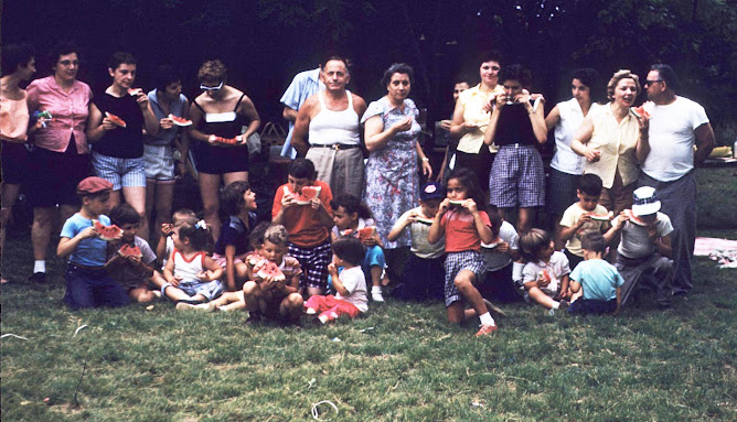 2nd Annual Family Picnic 1958