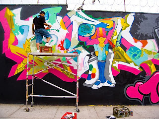 Colourfull Brooklyn Graffiti Murals