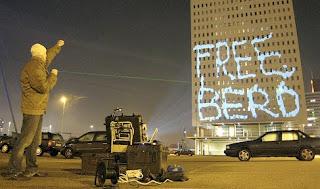 Graffiti Tagging In The High Building
