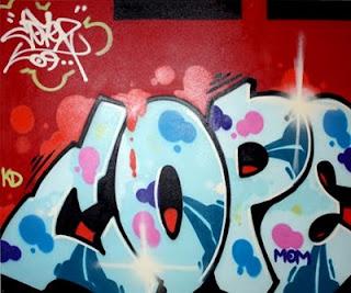 Graffiti Bubble Letter