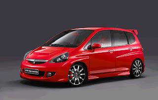 2011 Cars Information 2009 Honda Jazz Fit Red Bodykit Edition