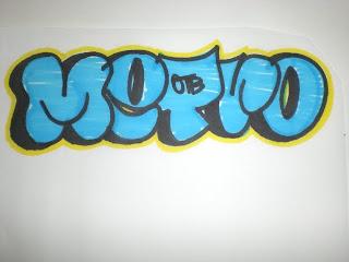 Graffiti Alphabet Bubble