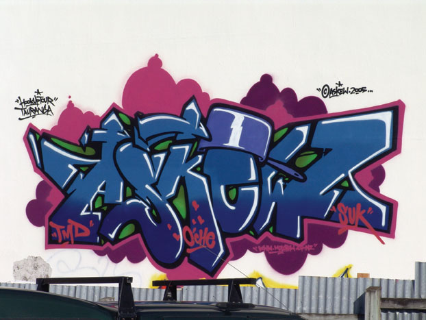 graffiti font styles. and Blue Color Font Style