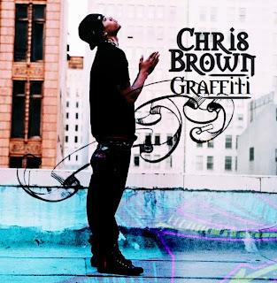 Crish Brown Graffiti on Building