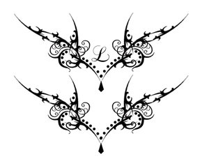 tattoo designs for lower back and hip tribal tattoo designs for lower back