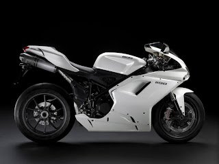 Motorcycles Ducati 1198 White Sport Edition
