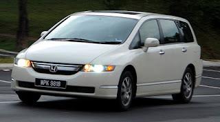 New Honda Odyssey 2010