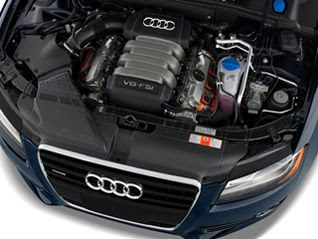 2011 Audi A5 Base Coupe Engine