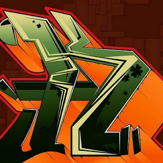 3D Graffiti Alphabet Letters Full Color