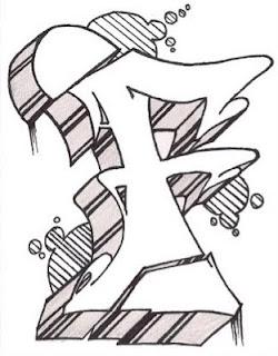 Graffiti Letter F