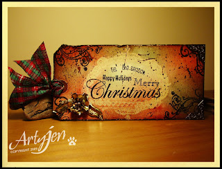 12 tags of Christmas day 2