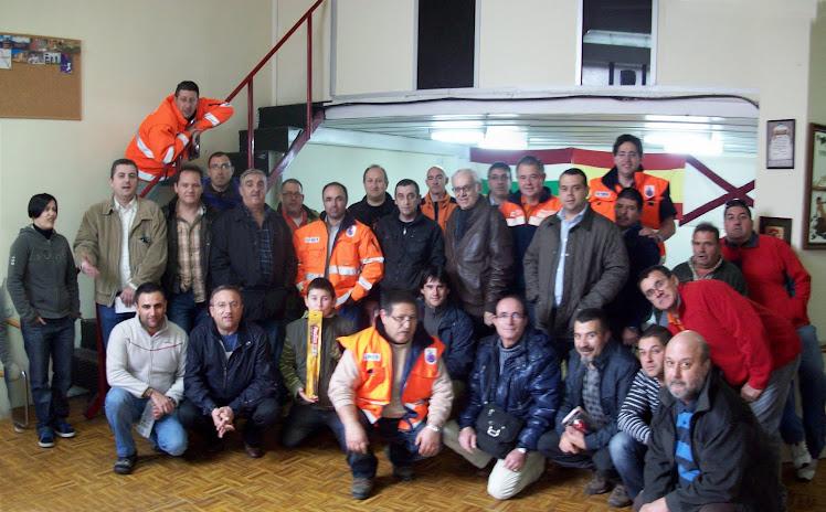 PARTICIPANTES 1º EJERCICIO DE RADIOGONIOMETRIA REMER RIOJA 7 NOVIEMBRE 2010